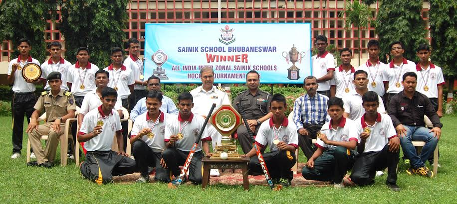 all india sainik school hockey winners bhubaneswar