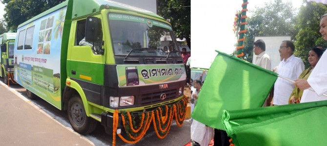 Bank on Wheels follows Fish on Wheels in Odisha