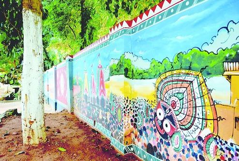 bhubaneswar walls makeover