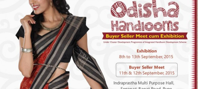 Are you in Pune? Check out this Odisha handlooms expo till 13th Sept