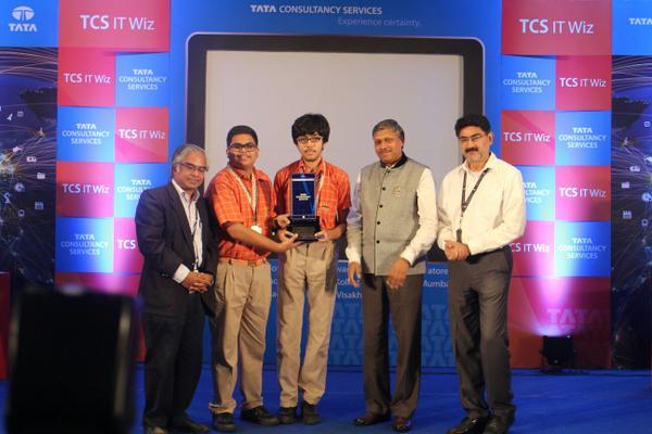 sai international school TCS IT WIZ winners 2015 bbsrbuzz