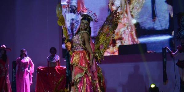 Sushrii Shreya Mishraa of Odisha wins National Costume contest in Miss United Continent