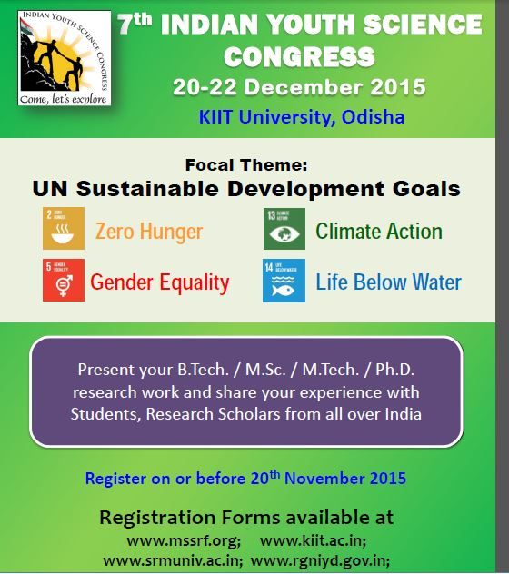 7th indian youth science congress