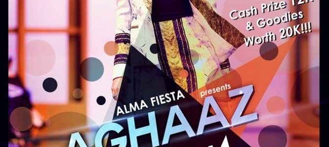 Alma Fiesta at IIT Bhubaneswar brings to you AGHAAZ-The Fashion Show