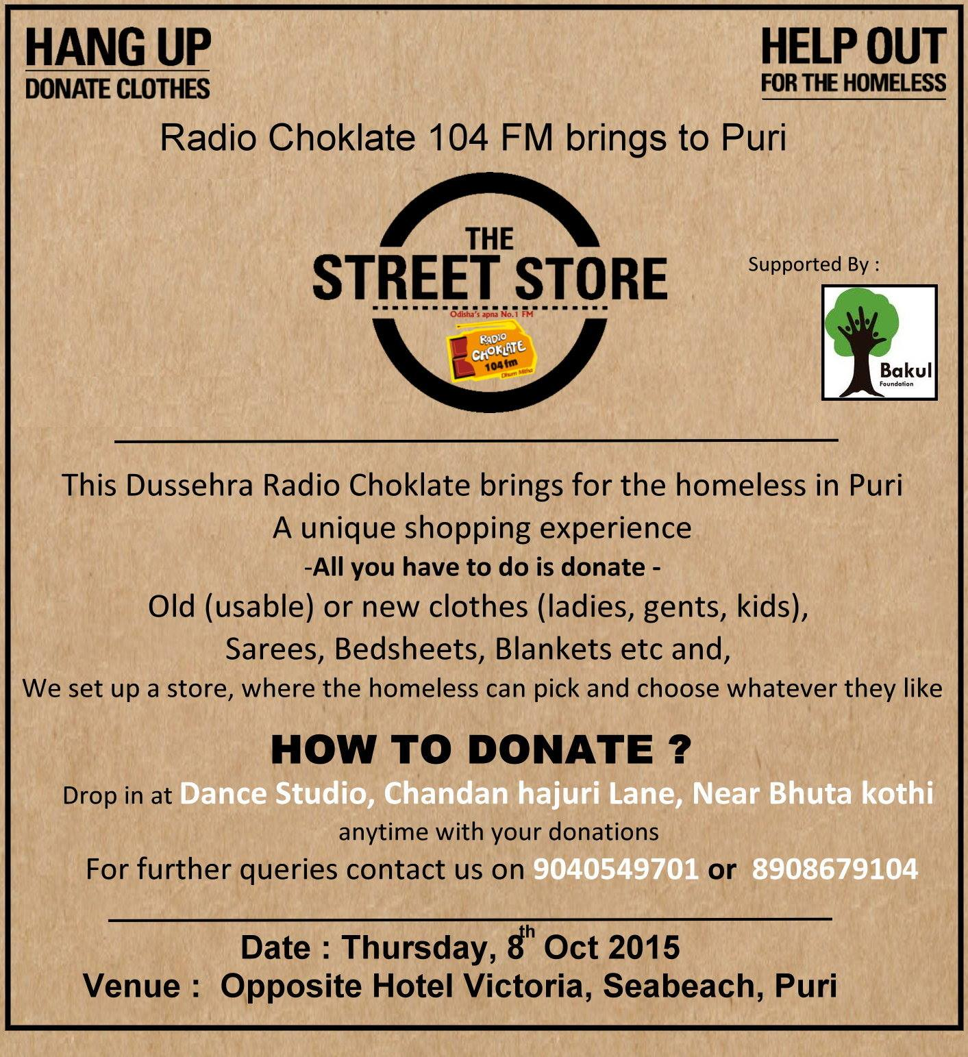 Street store comes to Puri bbsrbuzz
