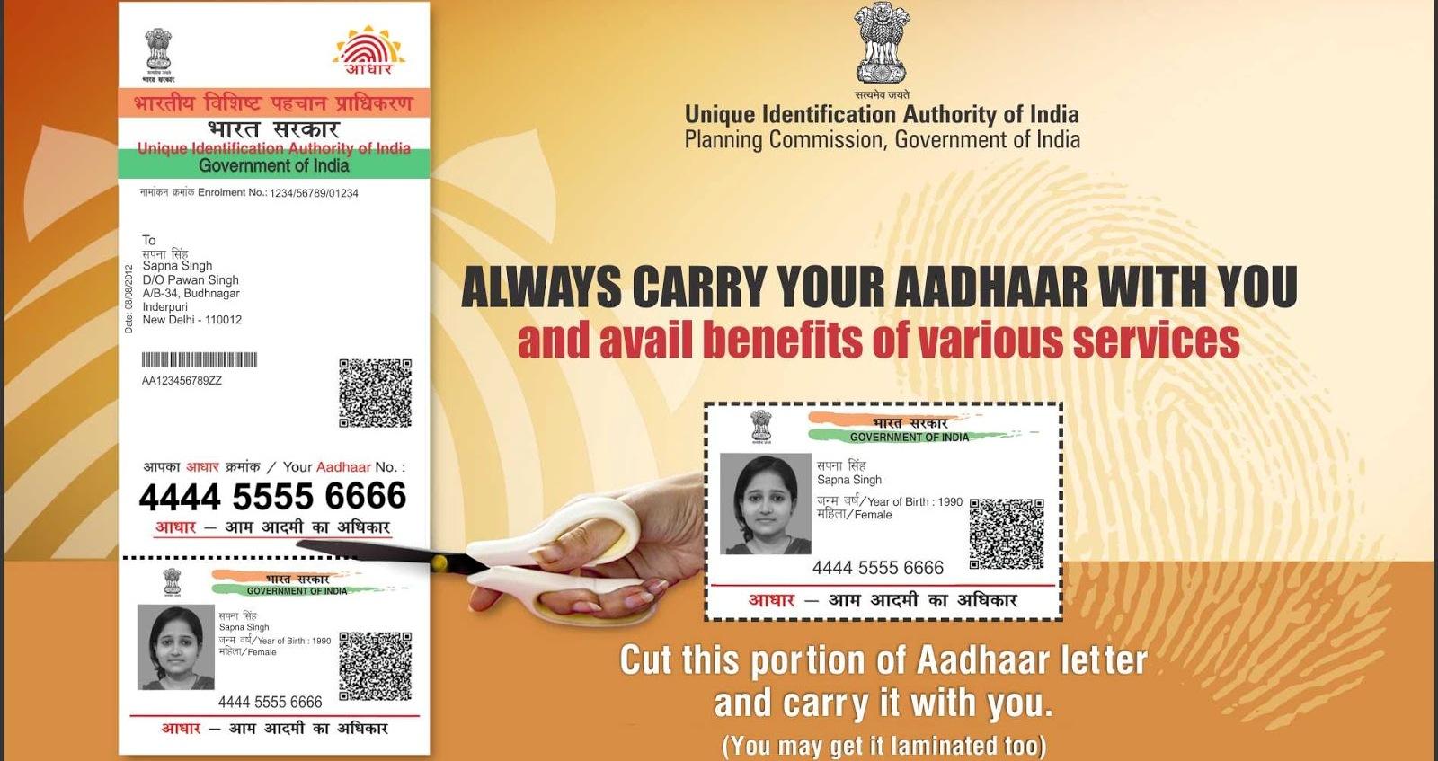 Don T Have Aadhaar Card Yet No Worries Odisha Govt To Have Camps In Nov Bhubaneswar Buzz