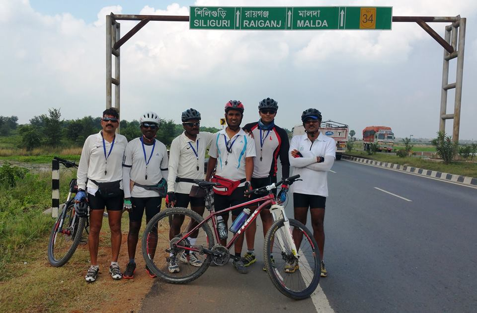bhubaneswar to bhutan cycle trip day 6