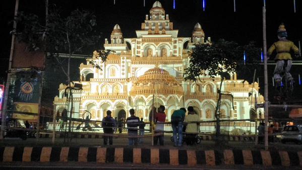 durga puja pandals in bhubaneswar 4