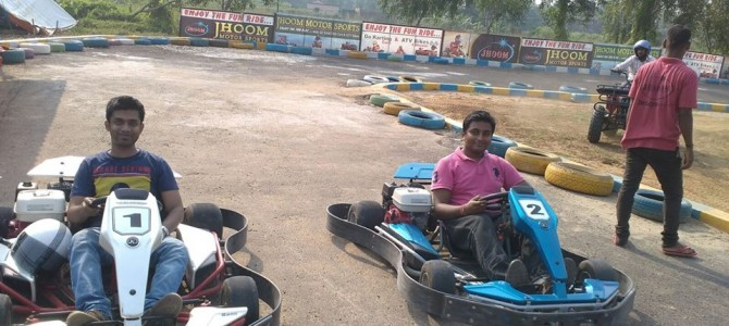 Now an option for Gokarting and ATV in Chandanpur Bypass road