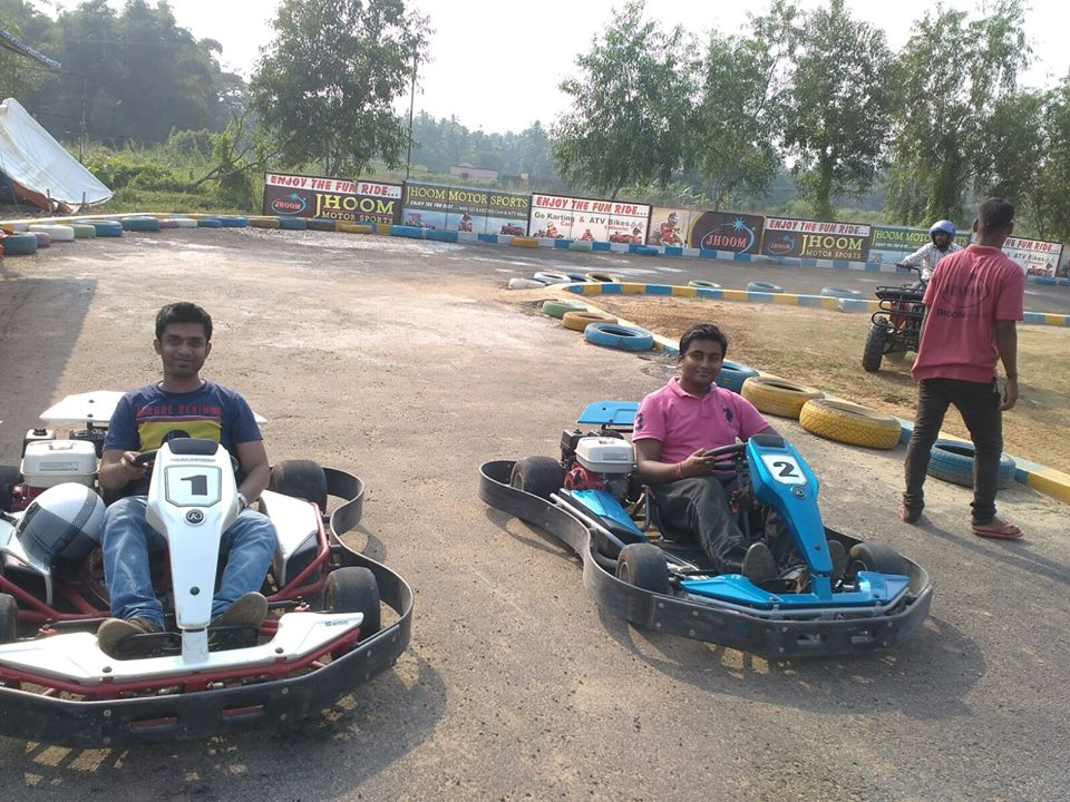 go karting chandanpur puri bypass