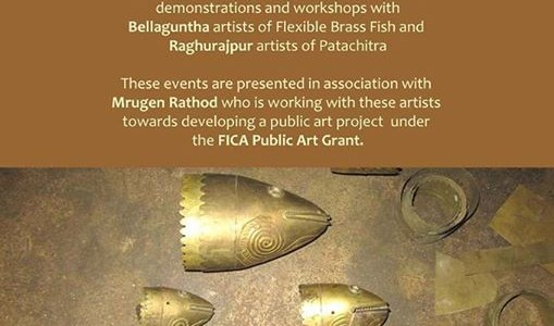 Learn from Pattachitra and Bellaguntha Brass Fish artists in Workshop in bhubaneswar