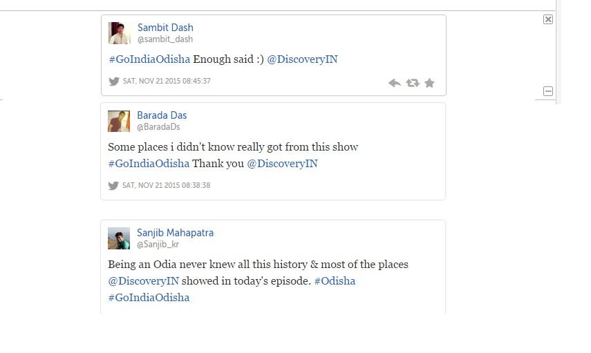 Go india odisha show