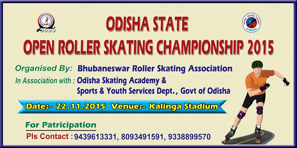 Odisha State Open Roller Skating bbsrbuzz