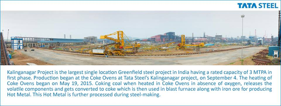 TATA steel kalinga nagar project