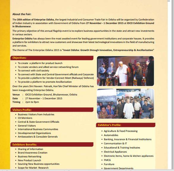 enterprise odisha 2015 bhubaneswar buzz