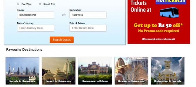 HotTicket.in Launched for Online Bus Ticket Booking in Odisha