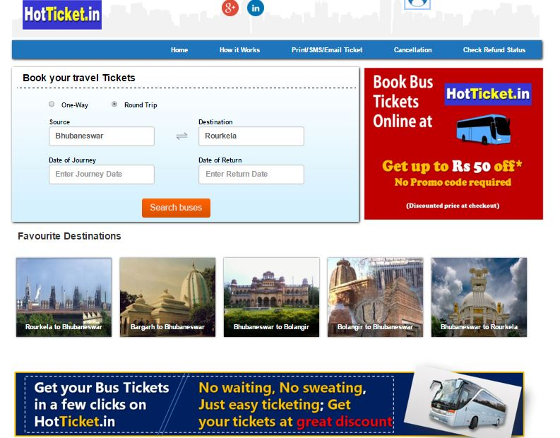 hot tickets bhubaneswar buzz bus online ticket