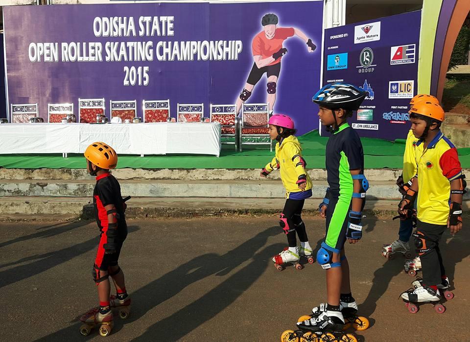 odisha open roller skating championship 1