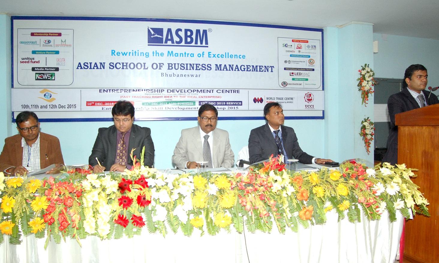 ASBM startup workshop bbsrbuzz