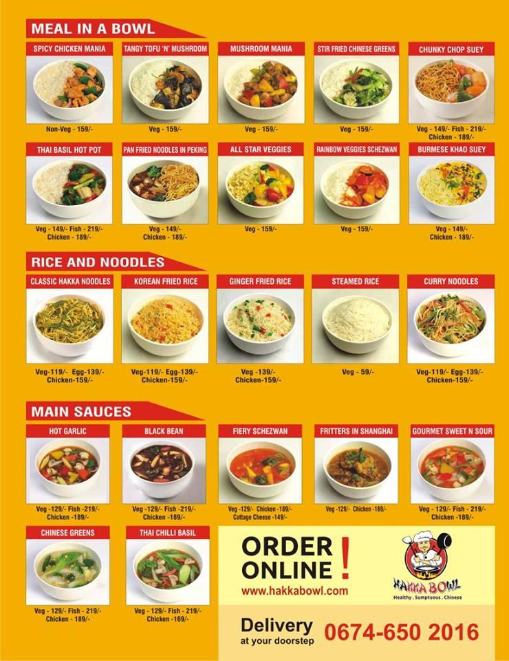 Hakka Bowl restaurant bhubaneswar buzz 2