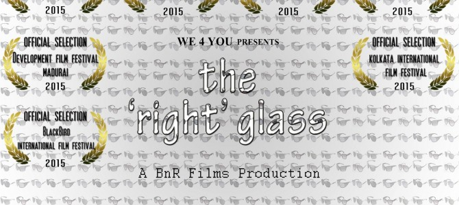 Multi-award winning short film The Right Glass by Odia Filmmaker to represent India at Paris Film Festival
