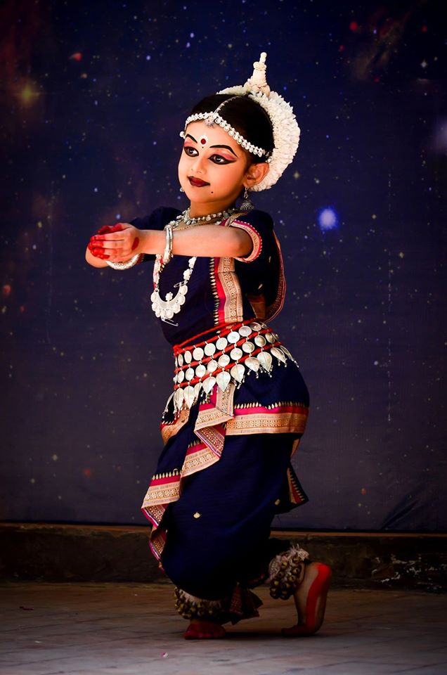 odissi dancer 5 yrs