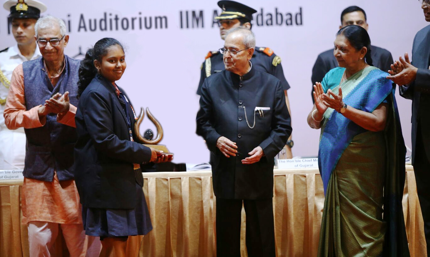 vaishnavi patra president of india award