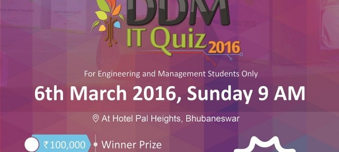 Mindfire Solutions is back with its 6th edition of the DDM IT QUIZ