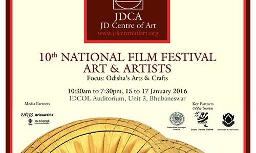 JD Center of Art presents Film Festival with focus of Odisha Art and Craft