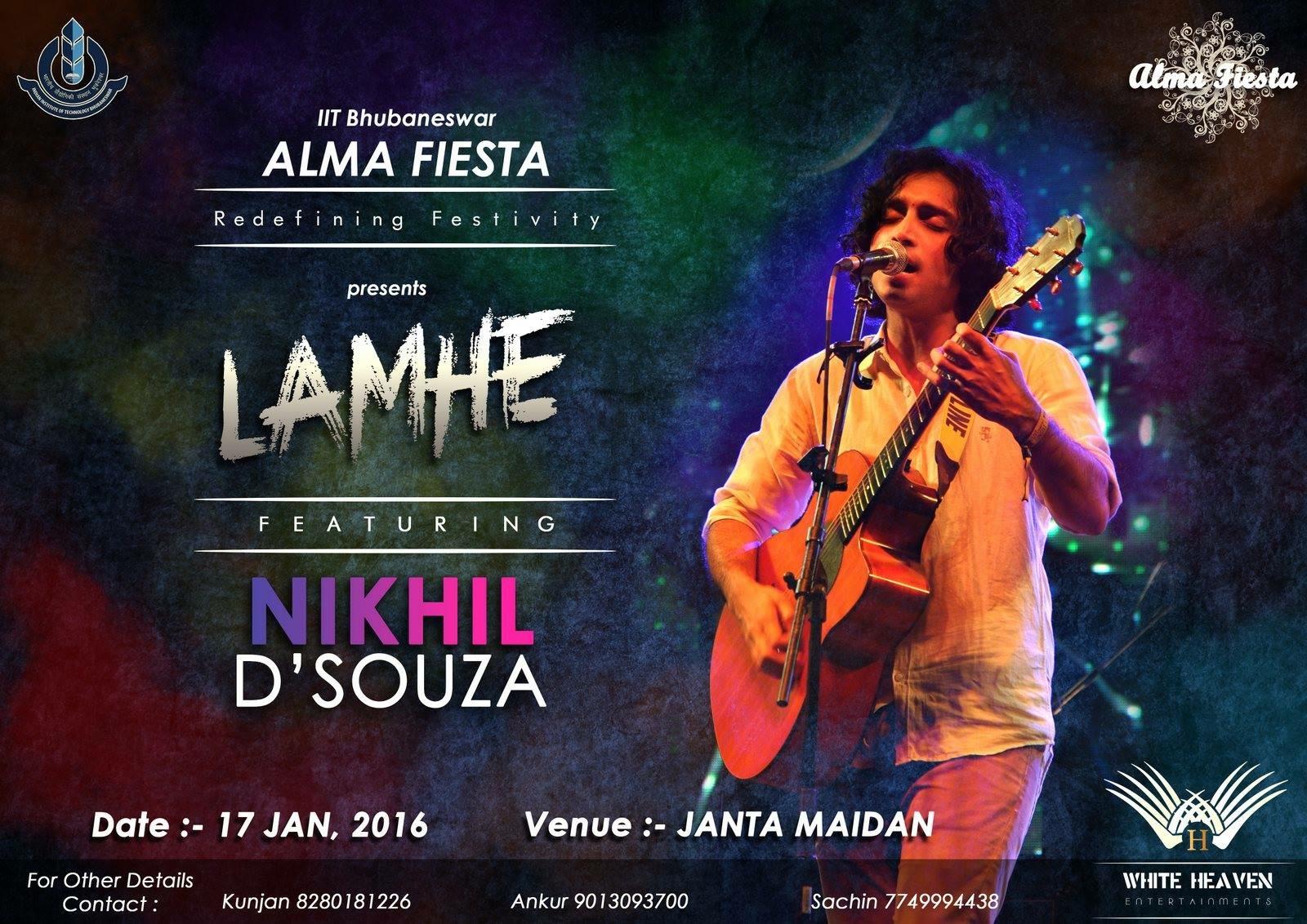 Lamhe - Nikhil D'Souza bubaneswar buzz