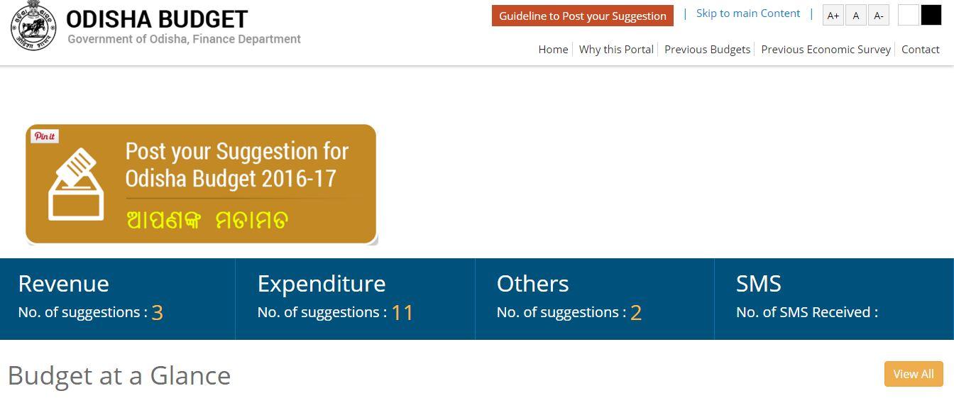 Odisha budget suggestions bhubaneswar buzz