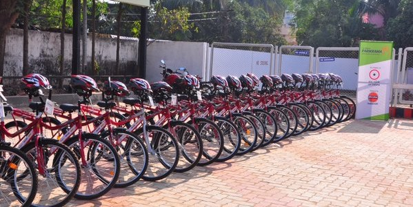 Bhubaneswar Rent a Cycle Initiative Parikrama goes live with 6 places as stations