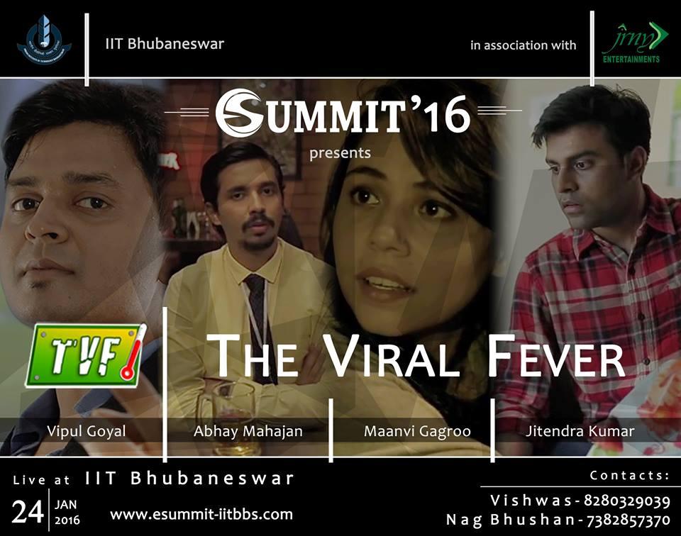 esummit iit bhubaneswar buzz TVF