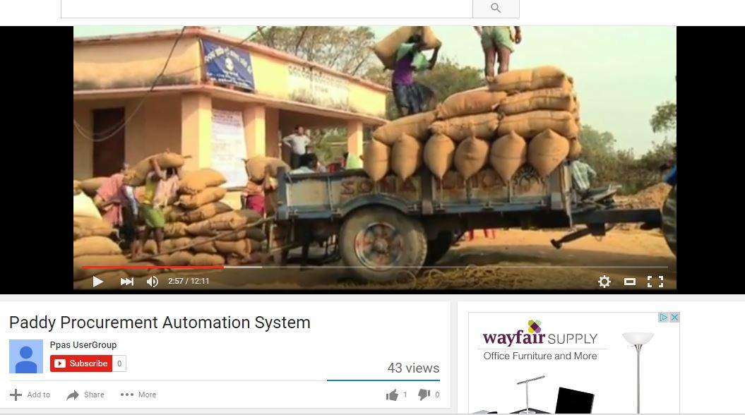 paddy procurement system odisha bhubaneswar buzz
