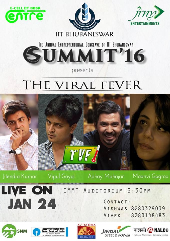 viral fever iit bhubaneswar