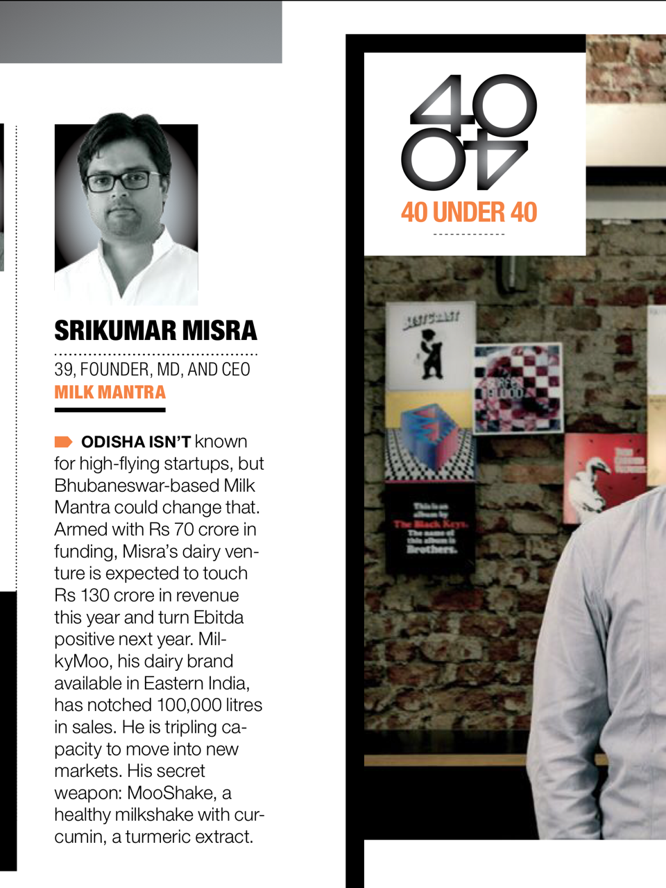 Fortune under 40 srikumar misra bbsrbuzz