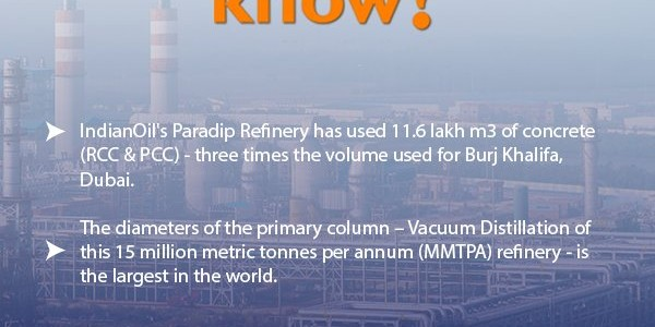 Unique highlights of Paradip Refinery by Indian Oil Corporation you should know