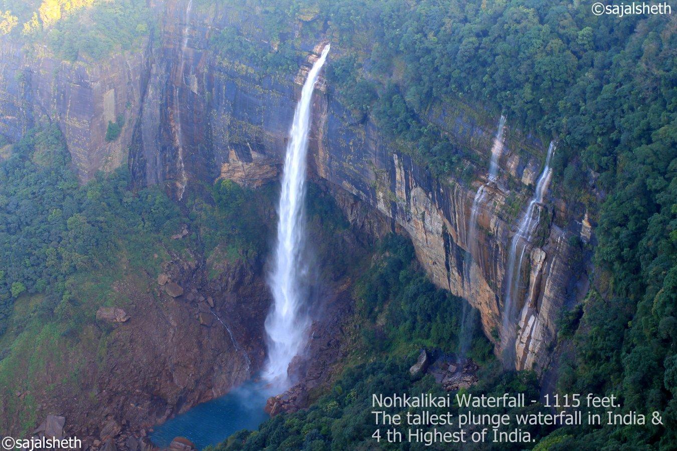 Sajal seth waterfall cherapunjee bbsrbuzz