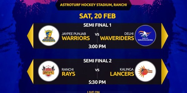 All the best Kalinga Lancers for their first Semi Final ever in Hockey India League