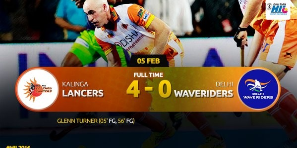 Kalinga Lancers rout Delhi Waveriders 4-0 in home ground bhubaneswar