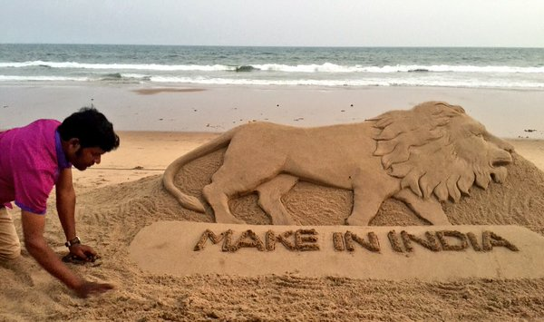 sandart by sudarshan make in india
