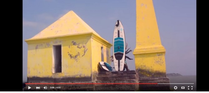 When Surfing Yogis explored Stand up Paddle (SUP) in Chilika Lake with Active360 UK