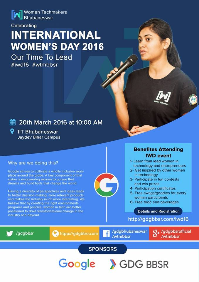 Google business group international womens day