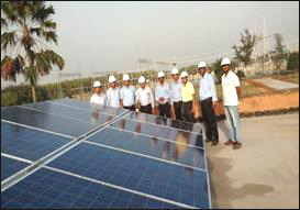 Pic-1-OPGC installed roof-top photolvoltaic