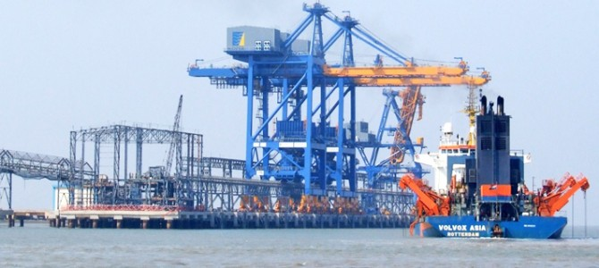 Construction of Subarnarekha port in Odisha will begin soon as the defense ministry has given its clearance for the project