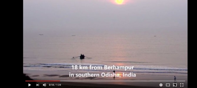 Watch the beauty of Gopalpur On Sea in Odisha in this Video