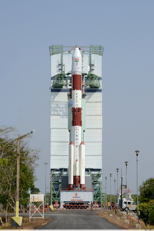 ISRO launch GPS satelite