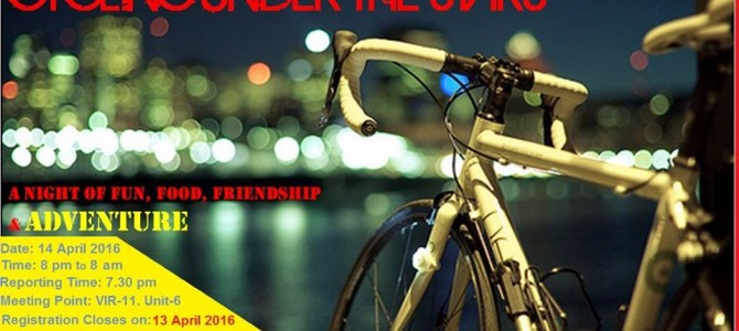 Bhubaneswar Cycling and Adventure Club tries to promote Overnight Cycling, continuous 12 hours