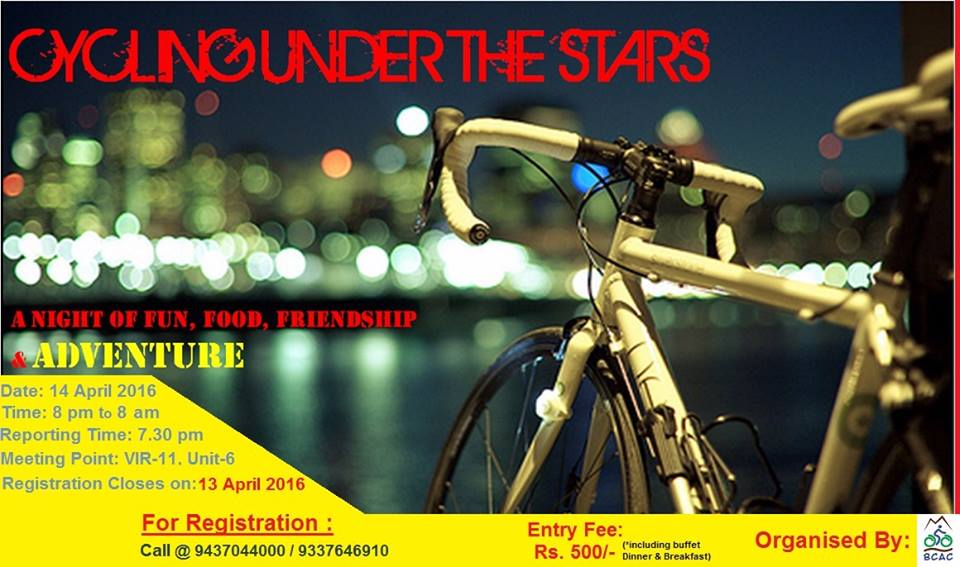 bhubaneswar cycling group night cycling