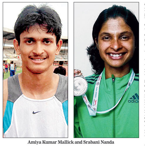 odisha athletes
